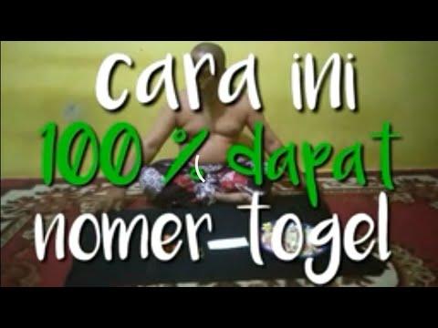 CARA INI 100 % DAPAT NOMER TOGEL