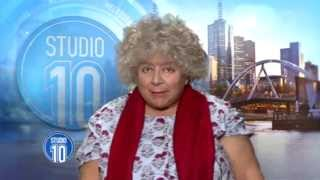 Miriam Margolyes Interview