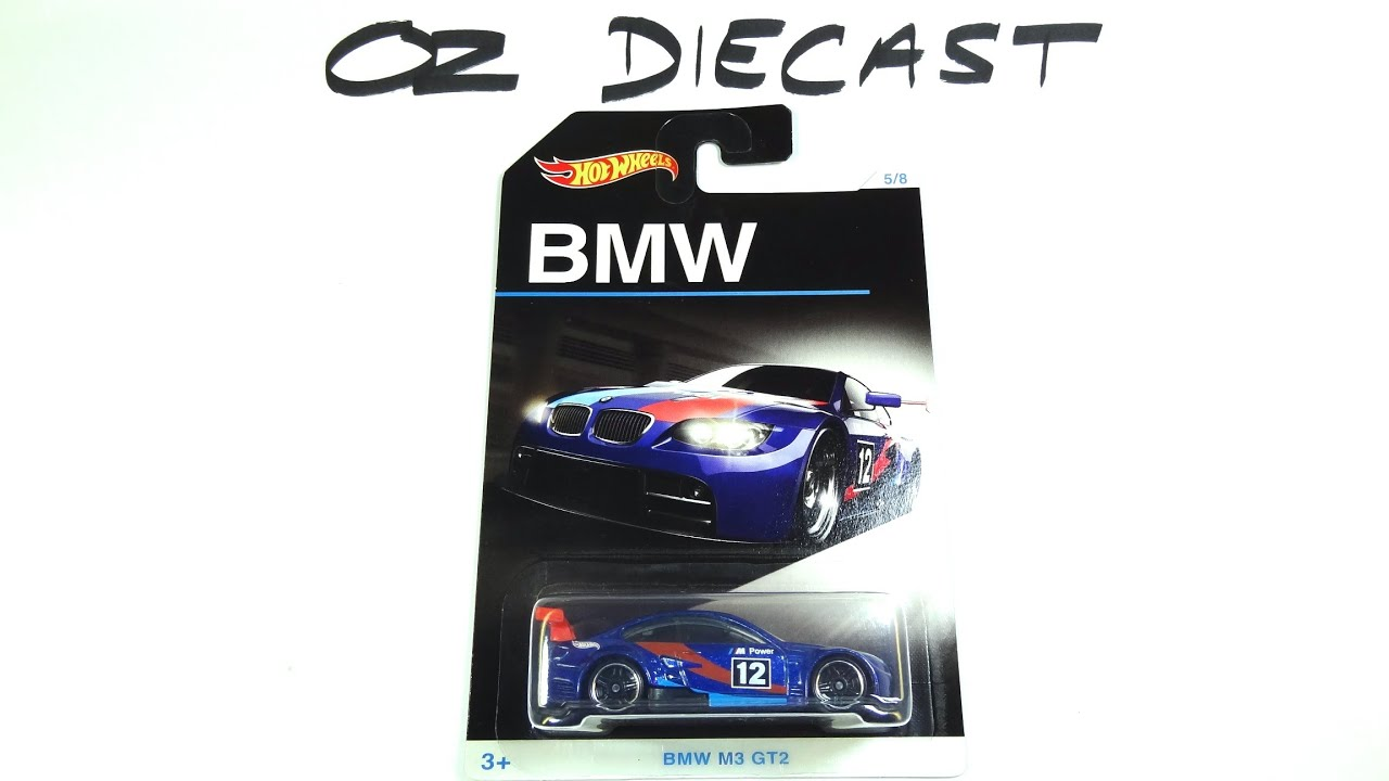 2016 Hot Wheels Bmw Series Bmw M3 Gt2 Review Youtube