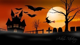 Graphic Design Tutorial - Halloween Scene In Fireworks