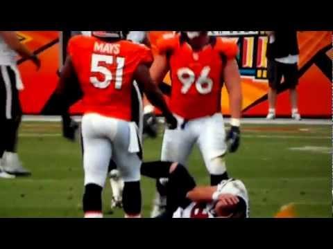Broncos Joe Mays knocks Matt Schaub
