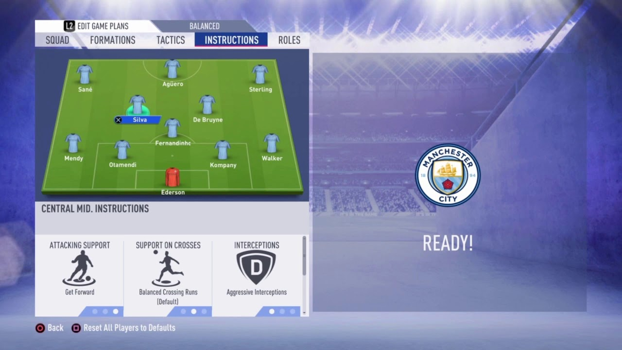 Osm Manchester City Tactic 2019