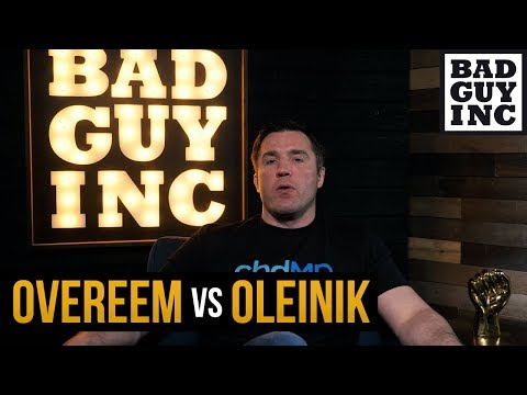 Chael Sonnen shares his experience with Aleksei Oelinik in Bodog MMA