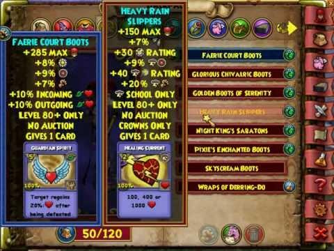 Best gear option stats