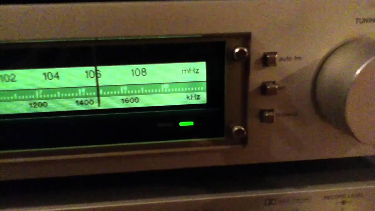 Harman/Kardon Cassette Deck and AM/FM Tuner - YouTube