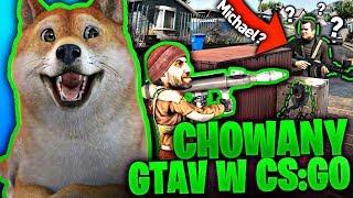 CHOWANEGO W CS:GO NA MAPIE Z GTA 5 ONLINE ! - Hide And Seek