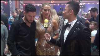 Dancing with the Stars - Val Chmerkovskiy & Elizabeth Berkley AfterBuzz TV November 27th Interview