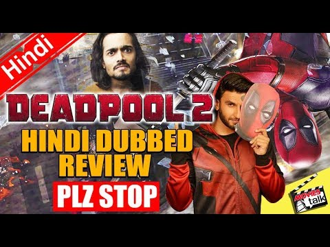 DEADPOOL 2: Hindi Dubbed Review [Explained...