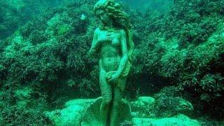 Аллея Вождей. Весь подводный музей за 4мин. 2015 Дайвинг на Черном море