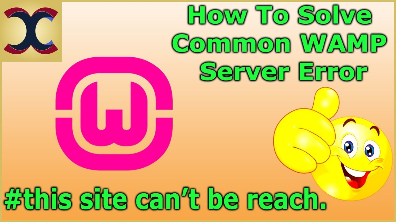 How To fix WAMP Server this site can't be reached problem Hindi/Urdu