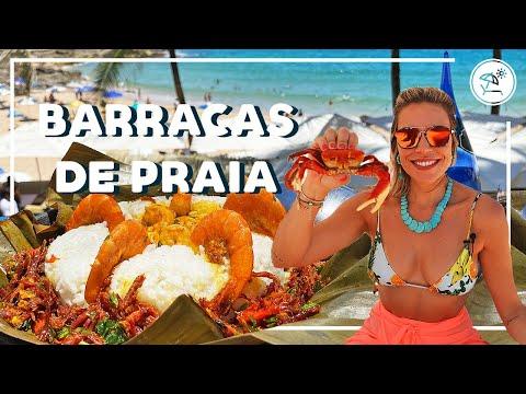 COMIDA DE PRAIA EM SALVADOR  EP 01  Go Deb