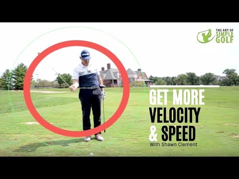 More Golf Swing Speed With Easy Velocity Lesson