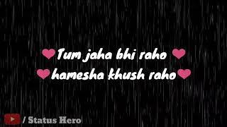 Ishq Adhura Duniya Adhuri |Lyrics Status |