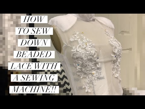 How To Sew Appliques ???? (with A Sewing Machine)
