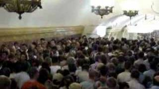 Crowds in Moscow metro
