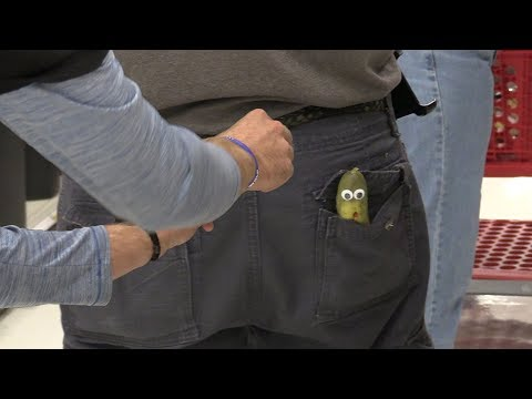 Sneaking Pickles into People's Pockets