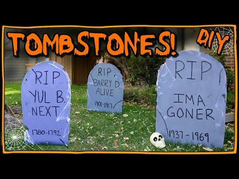 How To Make Tombstones 📍 How To With Kristin