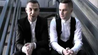 ► HURTS, Synthpop British Band ♪ | An Exclusive Interview with yoox.com