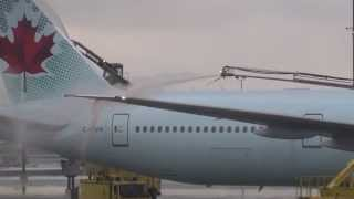 Aircraft Deicing at Pearson International Airport