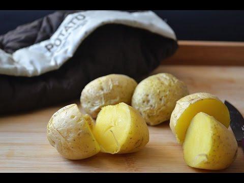 Gekochte Kartoffeln In Der Mikrowelle Zubereiten (kurz)