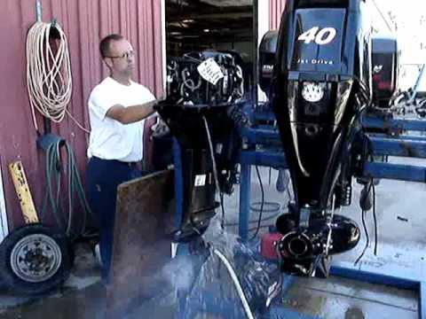 100 Hp Electric Motor Wiring Diagram 40 Hp Mercury Outboard Youtube