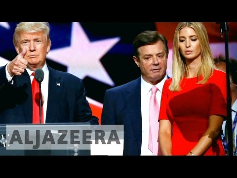Trump's ex-campaign manager faces claims of Russia ties