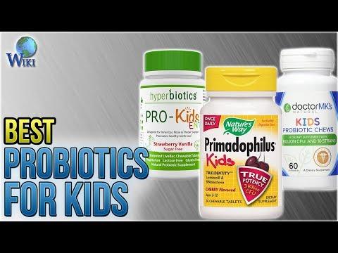 10 Best Probiotics for Kids 2018