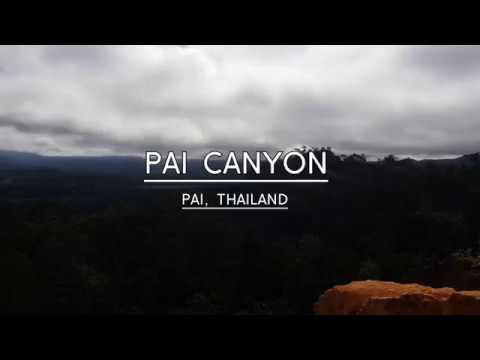 Pai Canyon - Pai, Thailand (inc. Drone Footage)