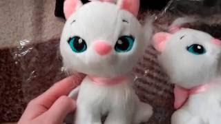 Обзор покупок из Китая. #Игрушки. Плюшевые #пони и белые кошки. #My little pony, white #cat.