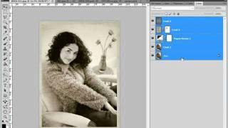 Делаем ретро фото в Photoshop CS5