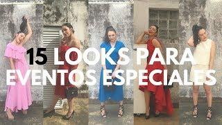 15 LOOKS PARA EVENTOS ESPECIALES: BODAS, BAUTIZOS, COMUNIONES | PASO A PASO