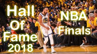 Stephen Curry Hall Of Fame 2018 NBA Finals