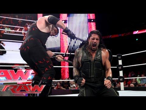 Roman Reigns vs. Kane - Last Man Standing...