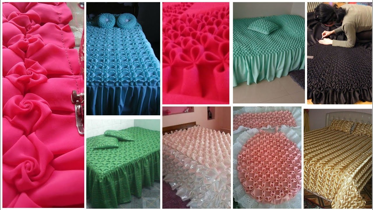 how to make smocking bed sheet cushion pillow covers design ideas image explanation by kushi maqbool
