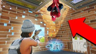 THE SPIDERMAN TRAP! *THIS IS INSANE!* | Fortnite Battle Royale