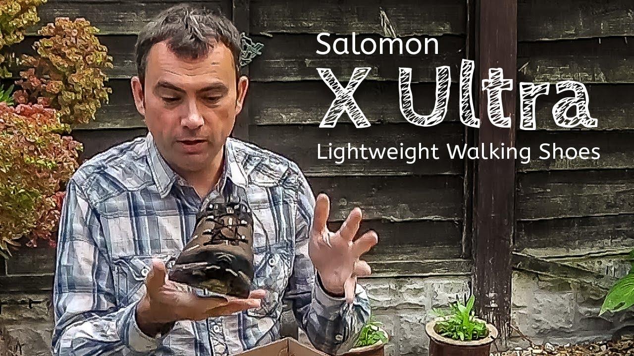 video Salomon X Ultra Walking Shoes