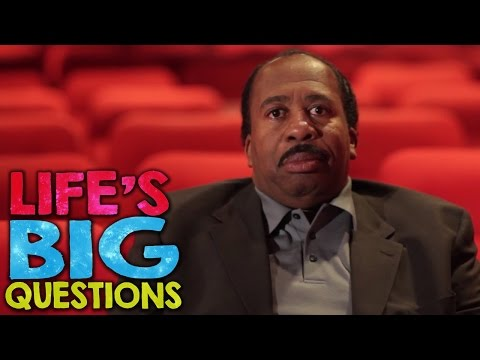 Leslie David Baker answers Life's BIG Questions!