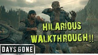 Hilarious Andquotdays Goneandquot Walkthrough 9