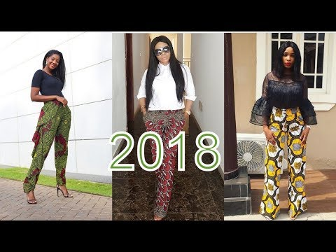AFRICAN ANKARA TROUSER STYLES 2018 : AMAZING FASHION FOR AFRICAN LADIES