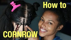 How to CORNROW | Kersti Pitre