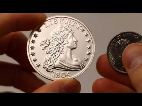 1804 Silver Dollar 1 Oz Silver Round