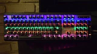 GEEZER Backlit Mechanical Gaming Keyboard Review