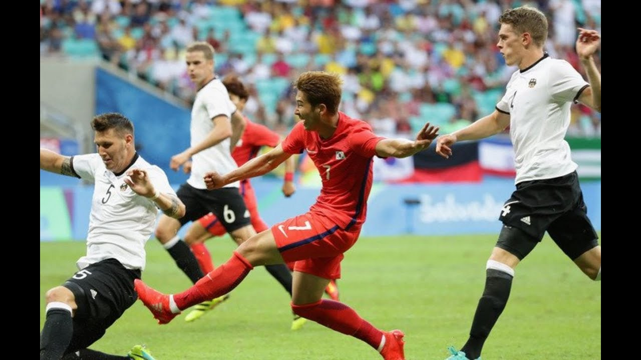 GERMANY VS SOUTH KOREA 3-3 MEN'S FOOTBALL RIO OLYMPICS 2016 8 7 16 MY THOUGHTS REVIEW - YouTube