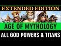 Age of Mythology Extended Edition - All God Powers & Titans