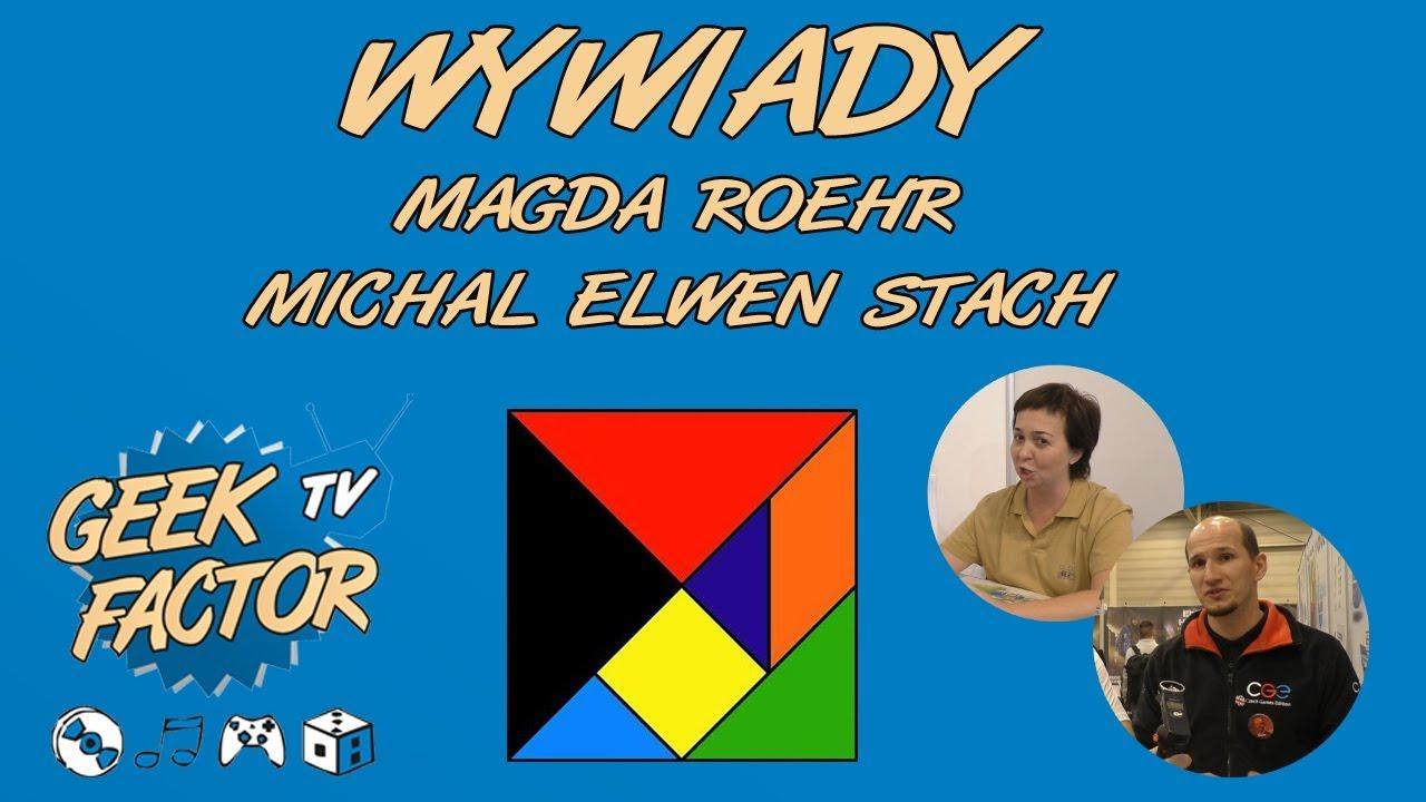 ESSEN 2017 – WYWIADY – Michal Elwen Stach [ENG] i Magda Roehr [PL]
