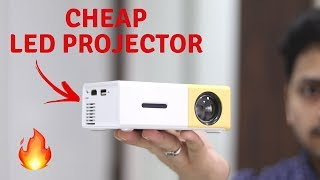 Budget LED Projector | YG-300 LCD LED Projector Unboxing & Review | Tech Unboxing
