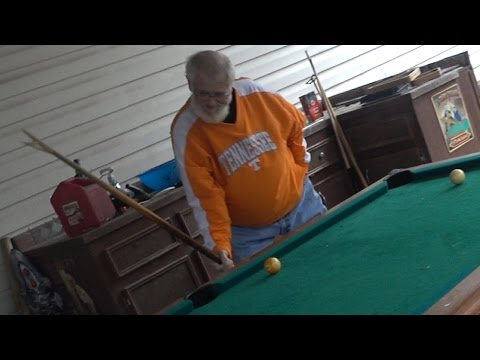 GRANDPA CAN'T PLAY POOL!! (2016 MELTDOWN!)
