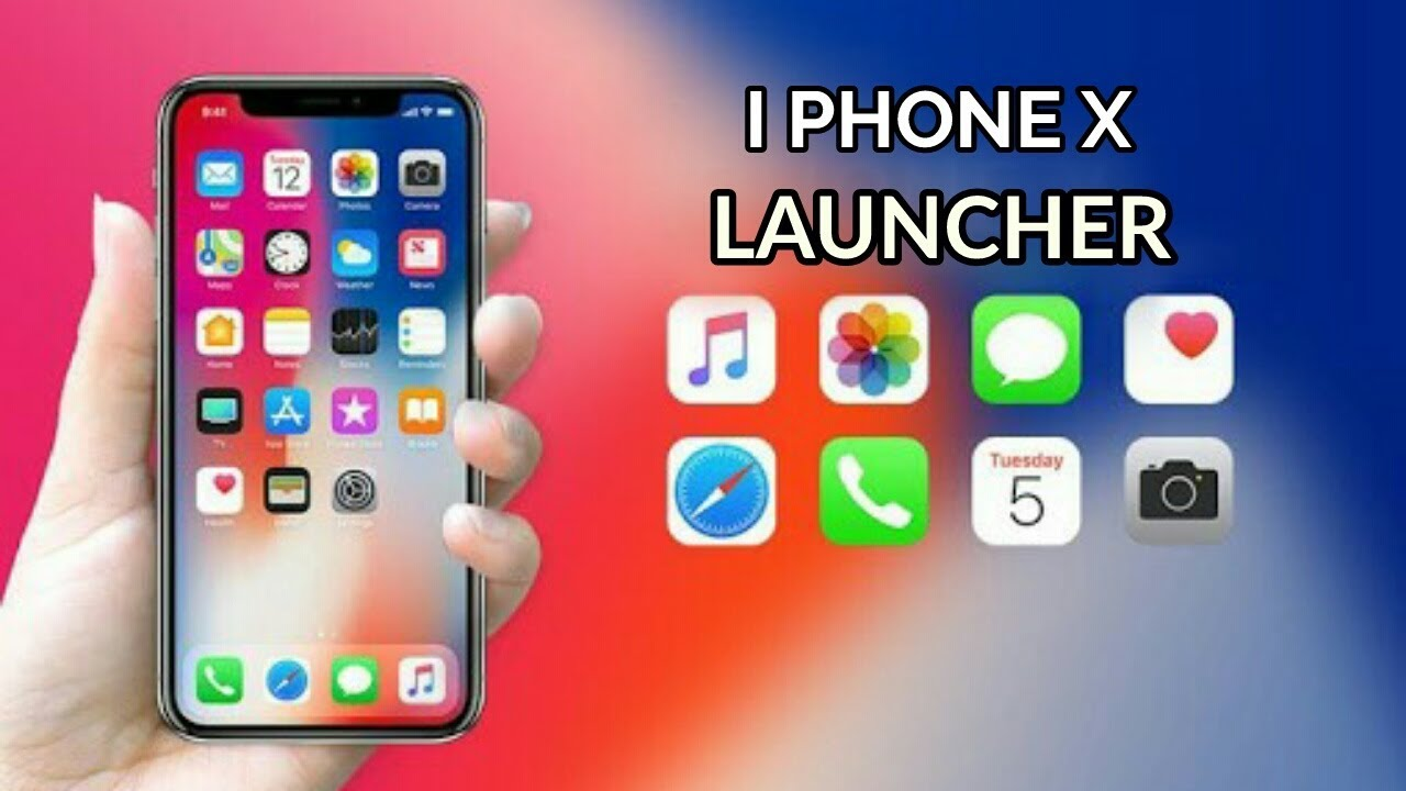 ✨ Iphone x max launcher apkpure | iPhone X Launcher Apk