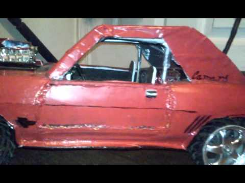Homemade 18 Scale Rc 1969 Chevrolet Camaro Ss Youtube