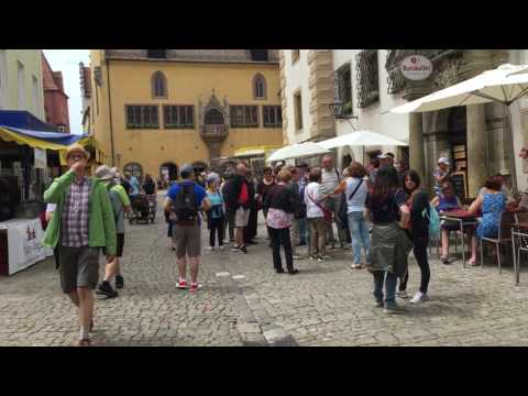 Jazz festival in Regensburg , Germany - 1 RAW minute